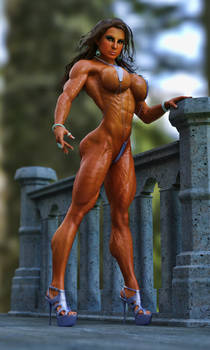 Female Bodybuilder Model