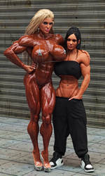 Muscle Girls Candid