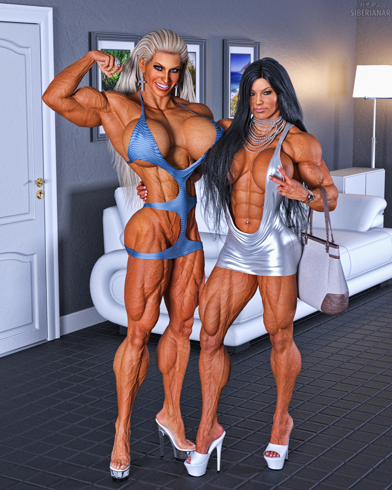 Muscle Girls Candid 2 by Siberianar on DeviantArt