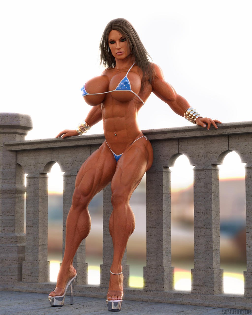 Muscle women 3d video adult tube