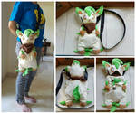 Leafeon Pouch by PlPlQ