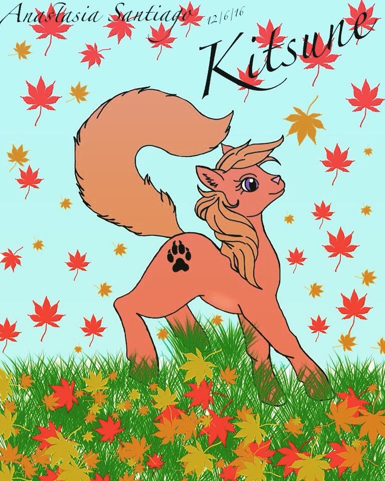 Kitsune by ana1238