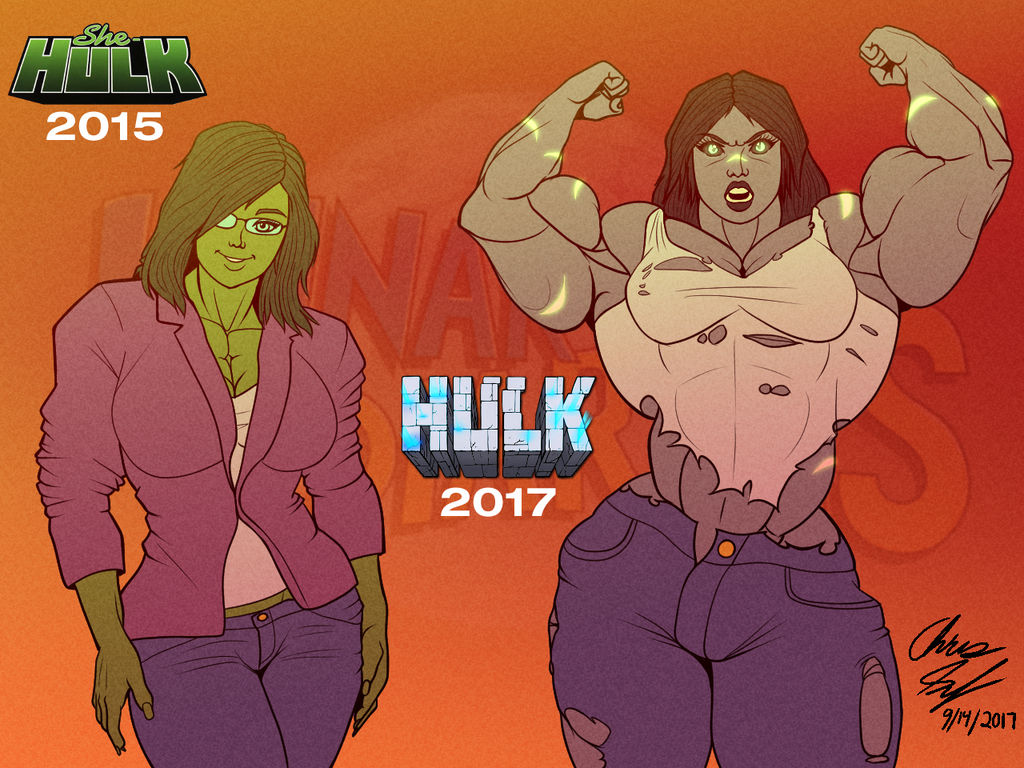 e2787805c2e7e Jen Walters   She-Hulk - Then and Now by LunarDiaries on DeviantArt