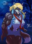 Tiffani the Werewolf by LunarDiaries