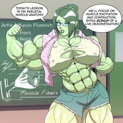 Professor Baxter's Biology Class