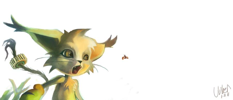 Cute Boy Gatomon by uuber