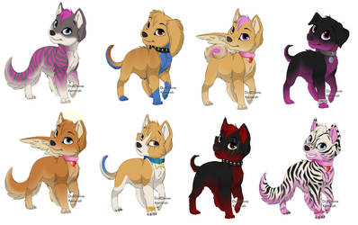 Puppy Maker adoptables by death-magic