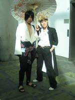 Fanime 2008- Sasuke and Naruto by xAutumnWinds