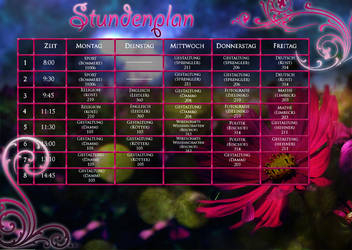 Timetable by Annmey