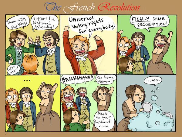 Naked image french revolution comic strip