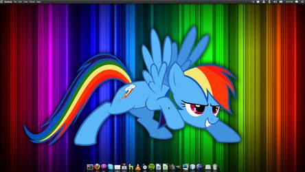 Current Desktop by King-Tacomun