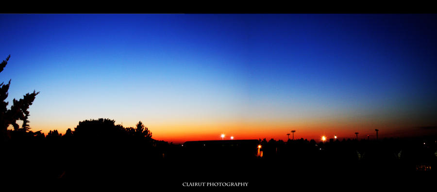 Sunset by ClairutPhotography