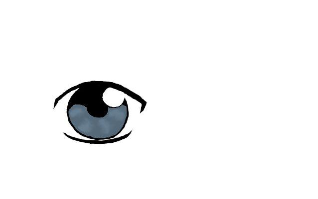 Male Anime Eye - Slate Blue by ahopper84 on DeviantArt