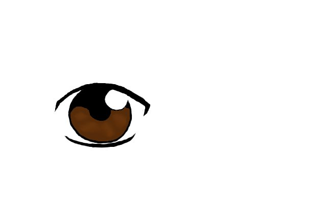 Male Anime Eye - Dark Brown by ahopper84 on DeviantArt