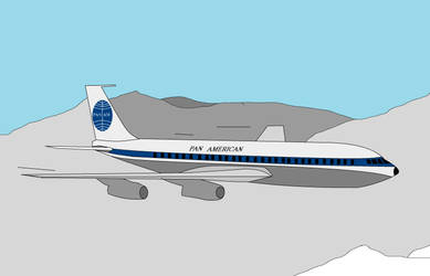 Boeing 707 Pan Am by Stephen-Fisher