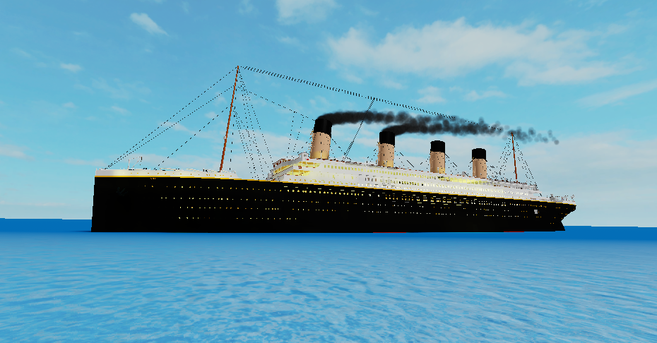 Roblox Titanic At Sea By Stephen Fisher On Deviantart