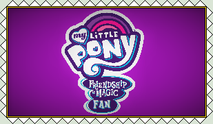 My Little Pony: Friendship is Magic Fan Stamp