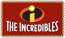 The Incredibles (2004) Stamp