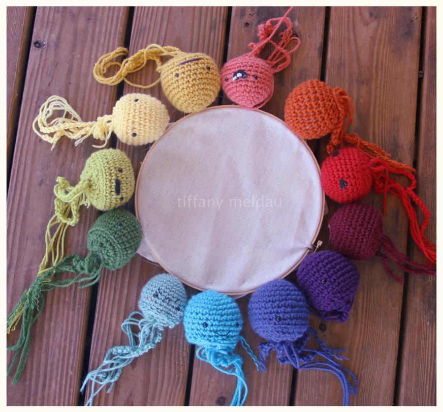 Creative Color Wheel: Jellyfish by thelegendoftiffany on DeviantArt