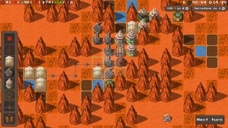 The FarLanders Gameplay screen
