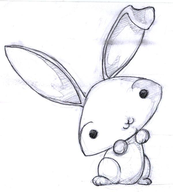 -QQ- cute rabbit by kageki