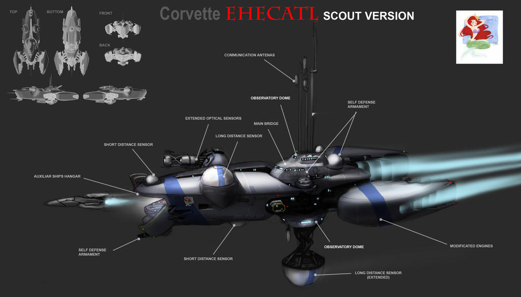 Scout Corvette by Chavito34