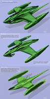 Neirrh class Romulan Frigate