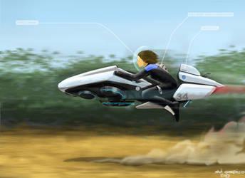 Star Trek bike 35 by Chavito34