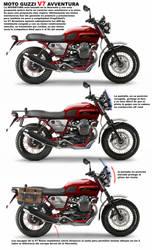 Moto Guzzi Avventura by Chavito34