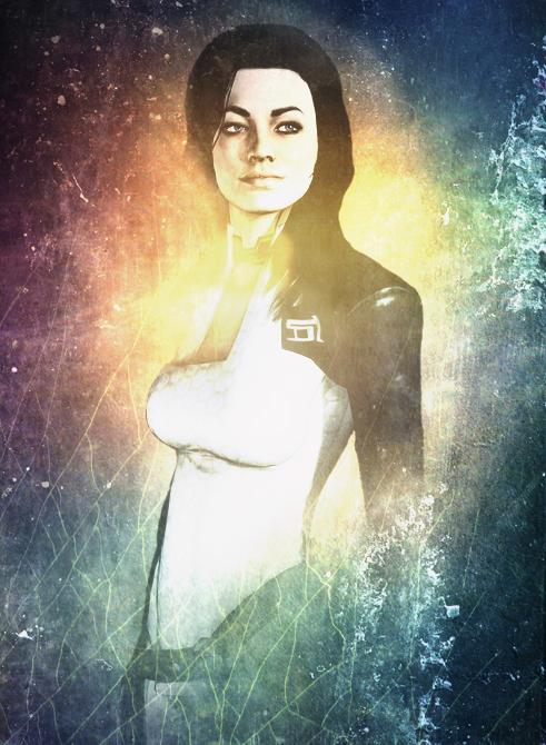 Miranda Lawson - Texture Series by SiwaPyra