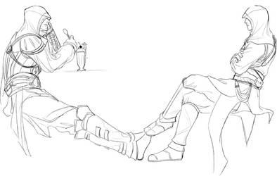 Altair Ezio - summer time by ameij