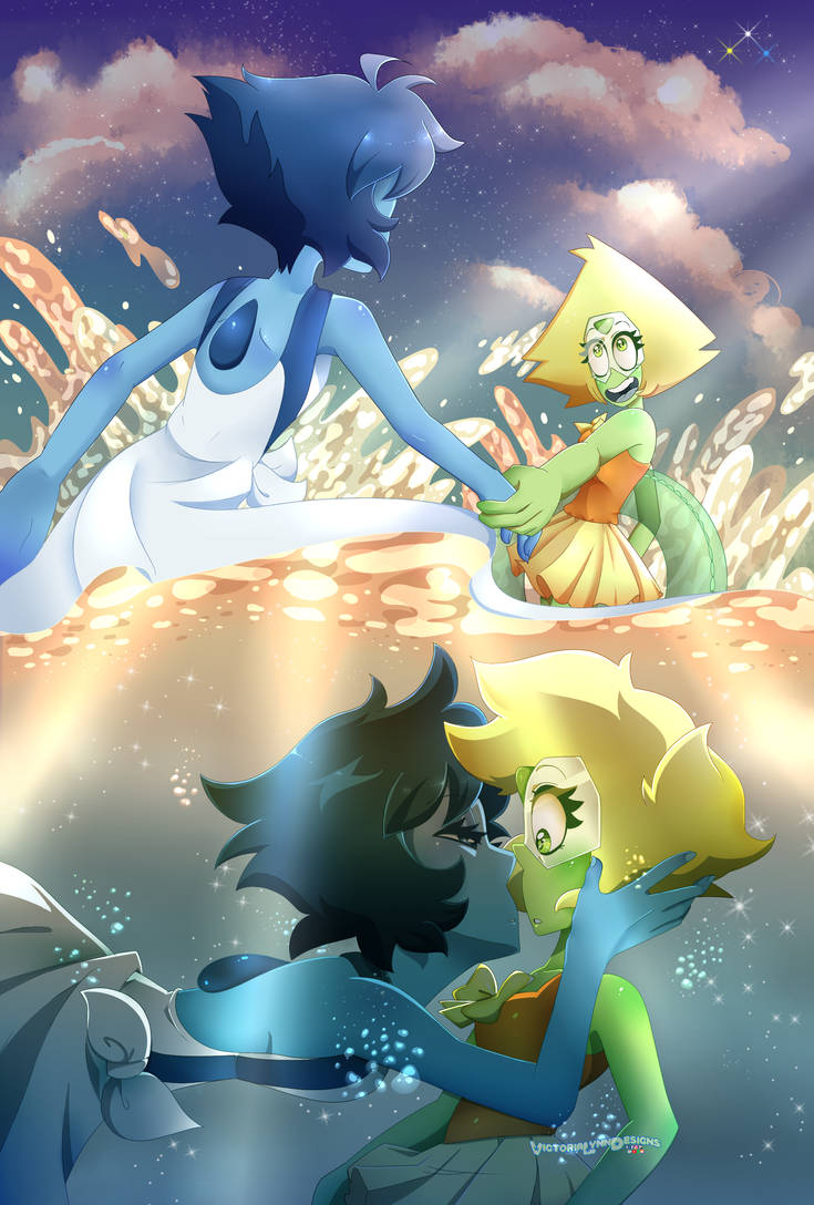 Lapidot Zine Page One by VictoriaLynnDesigns