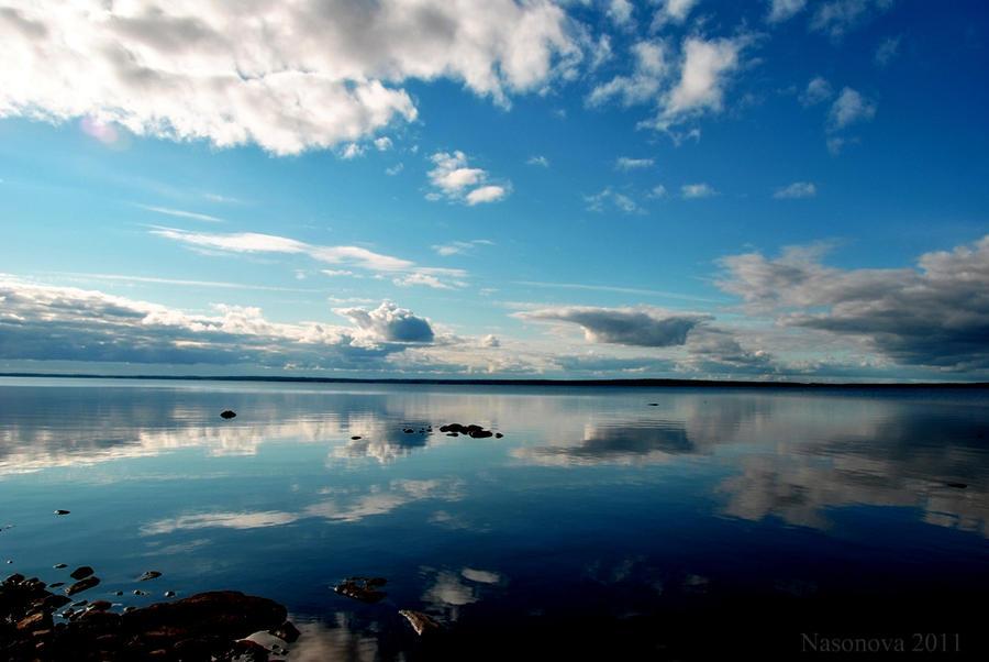 Blue sky. by Nasonova