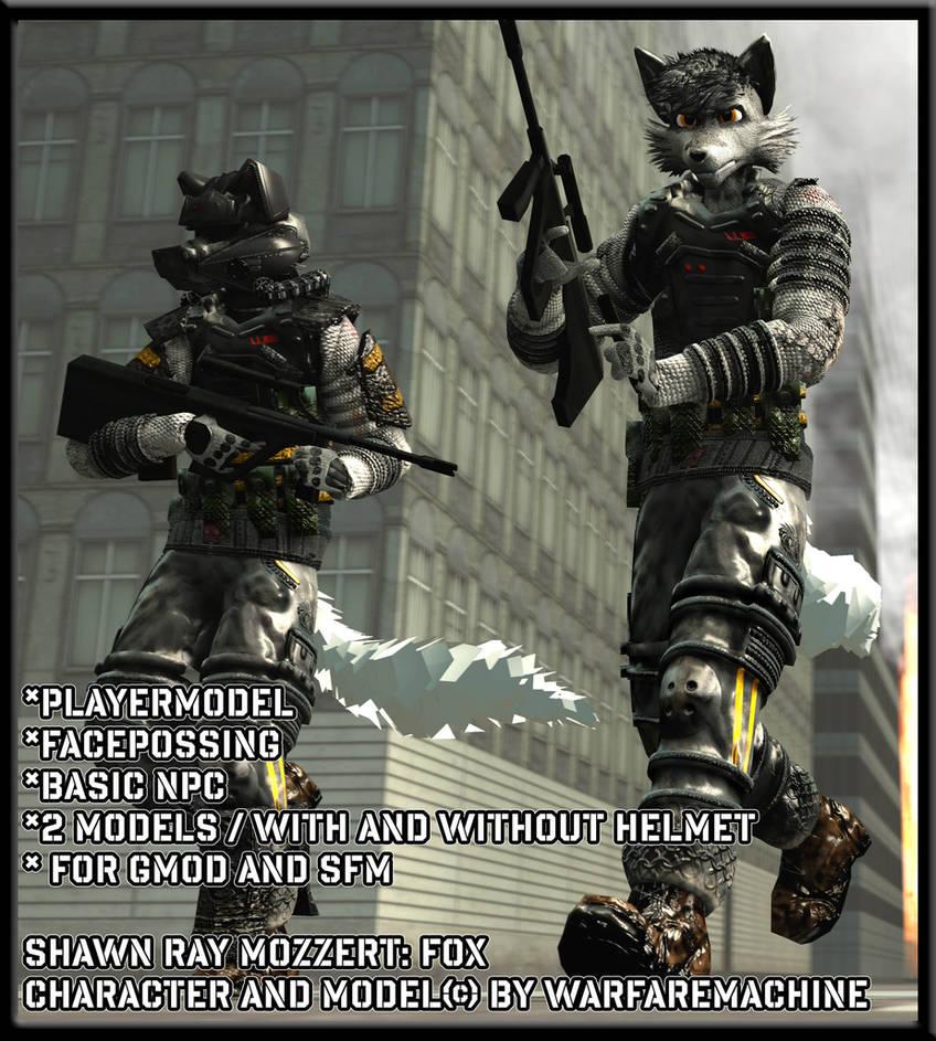 Furry Trooper GMOD - SFM model Download -Shawn Moz by warfaremachine