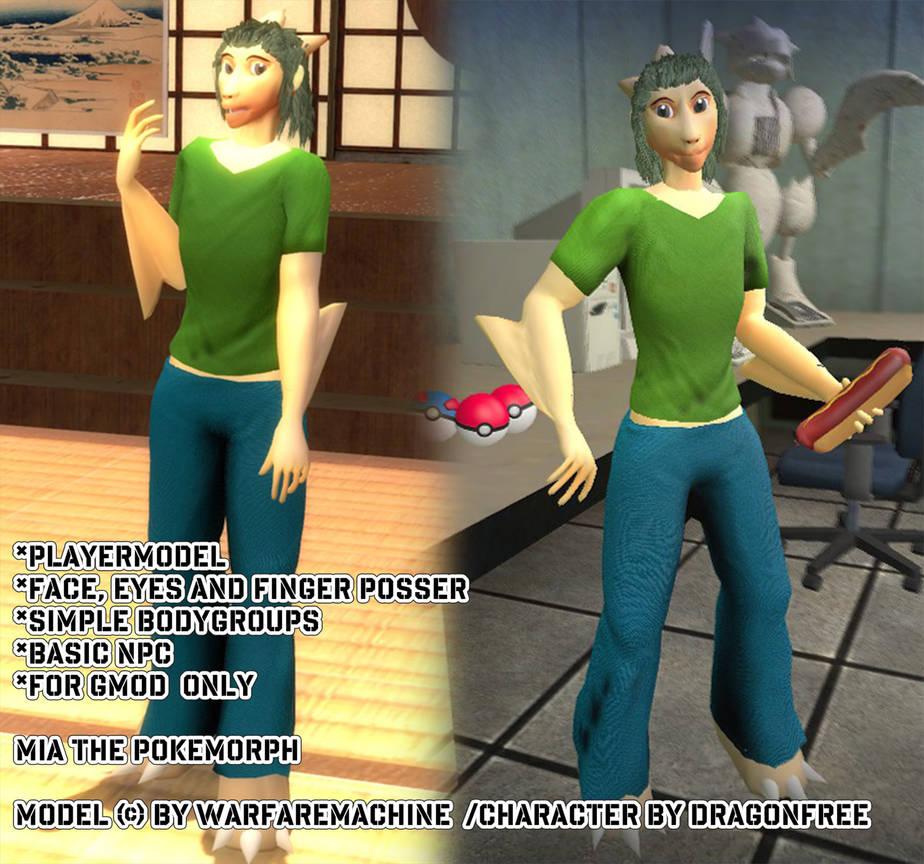 Gmod Casual Playermodel