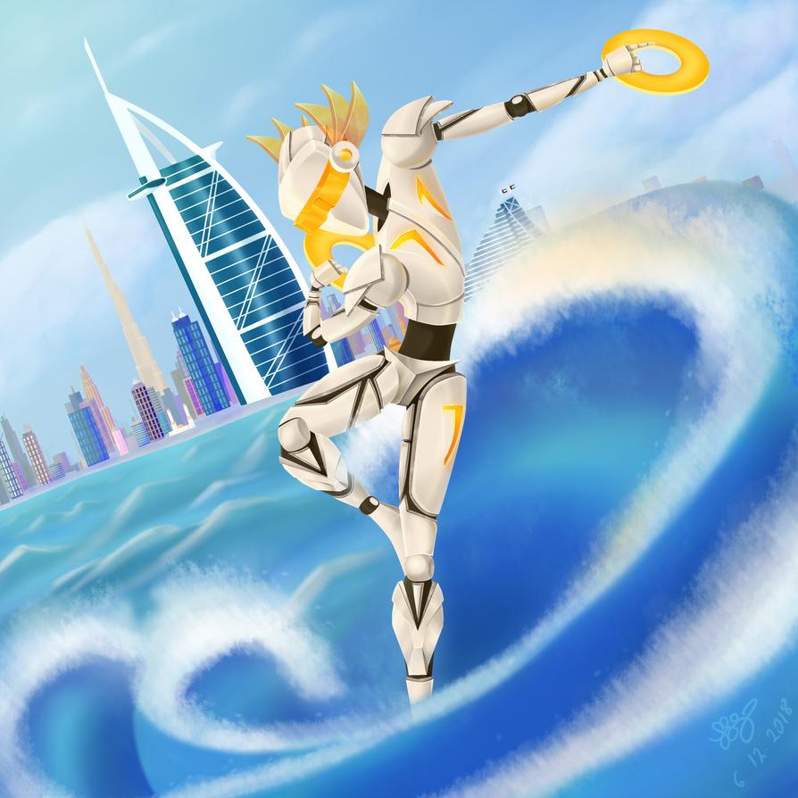 Shaheen - Dubai's defender by Kidlike101