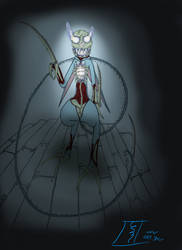 No Strings... Scuttles' Newest Puppet by AngelX-Studios