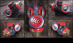 Halloween gothic masks is made of gas masks 4 by boriatushiski