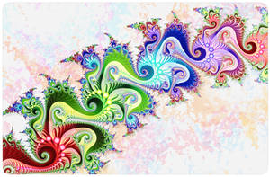 Rainbow Splash by FractalEyes
