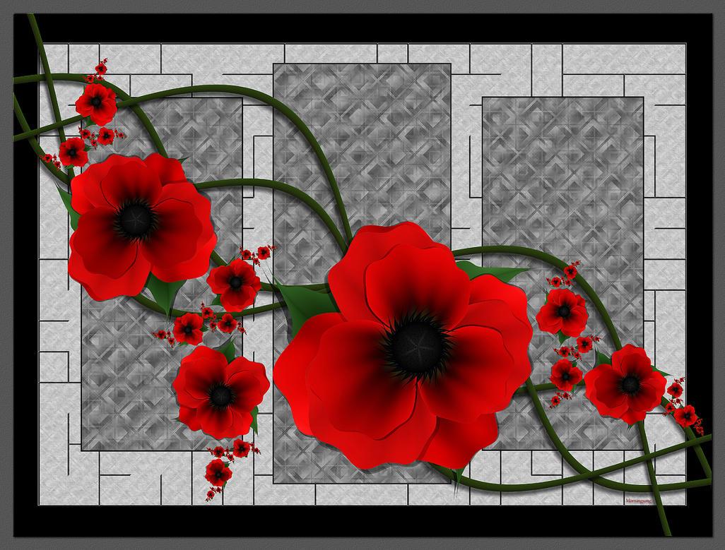 Poppy by FractalEyes