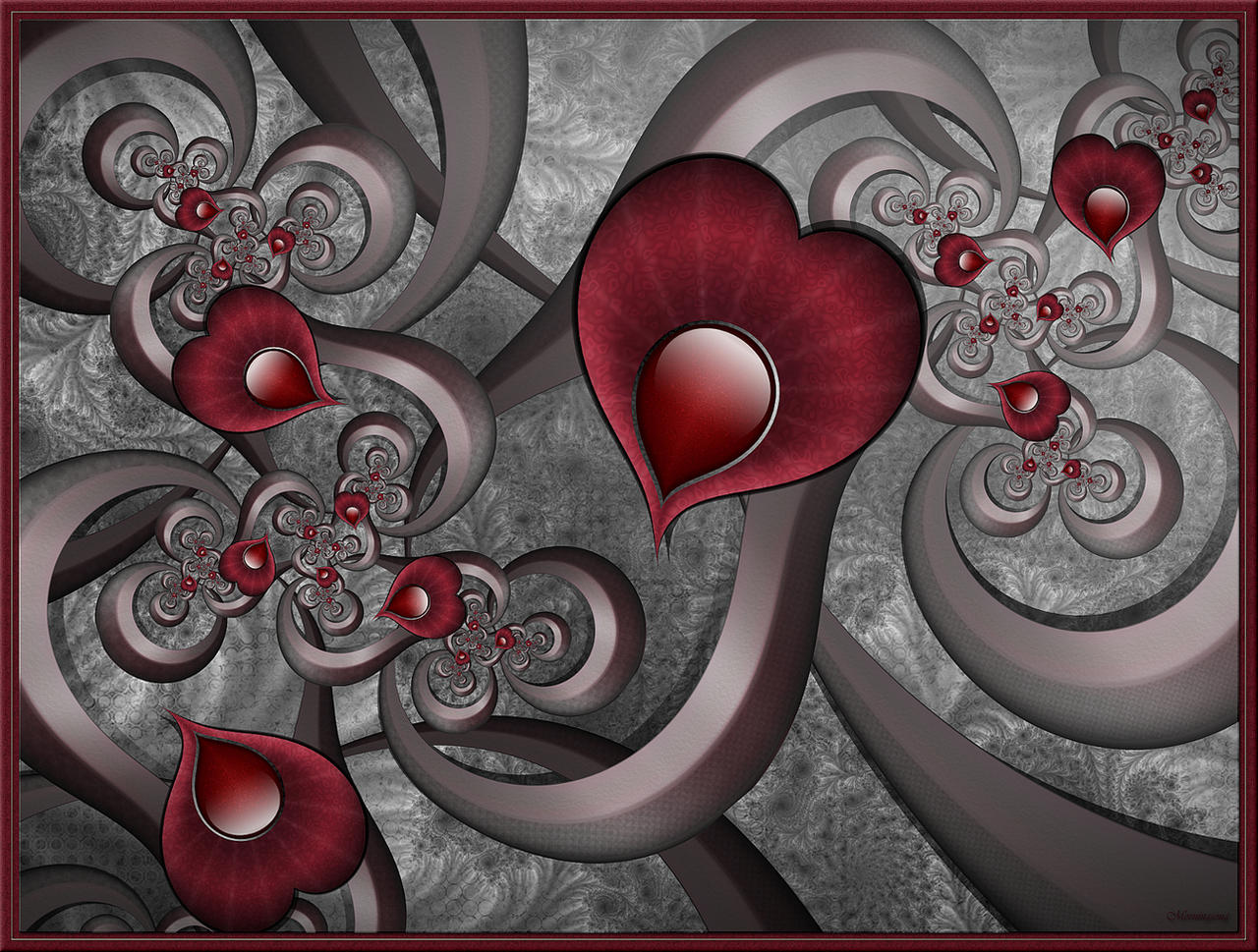 Replacement Hearts... to Lulu with love by FractalEyes