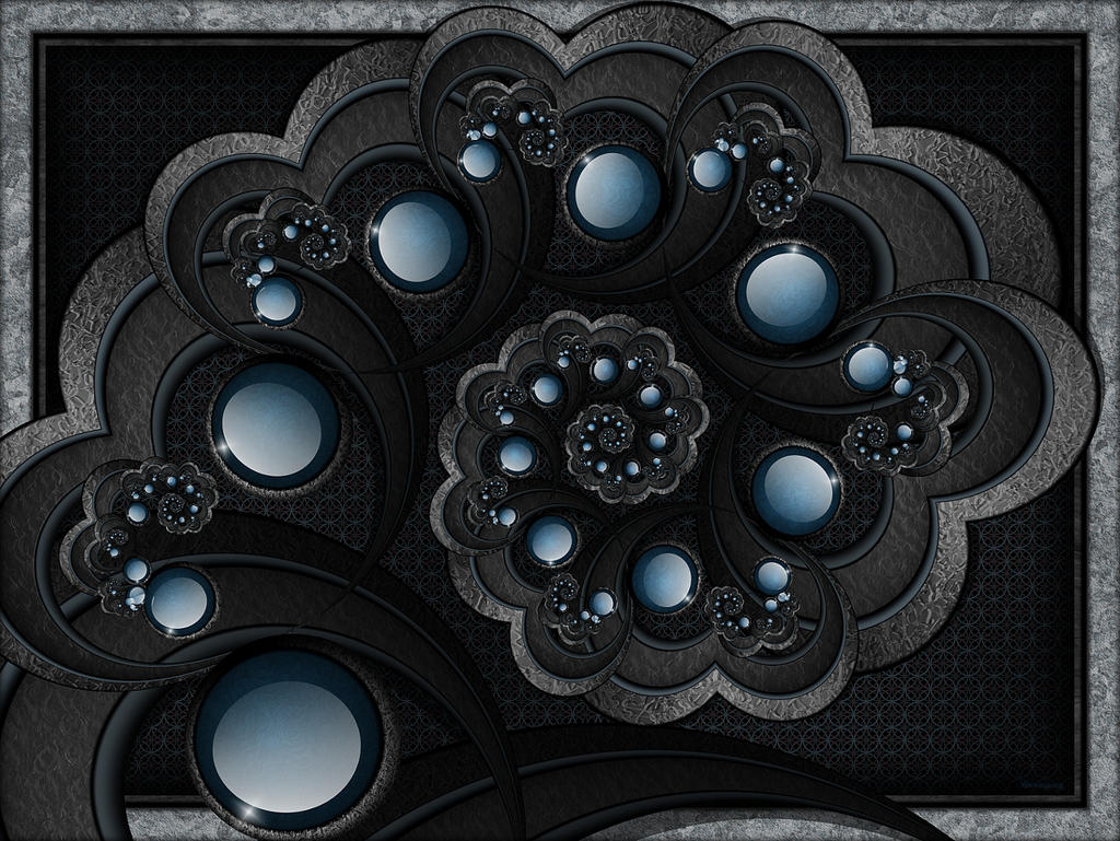 Out of the Blue... Into the Black by FractalEyes