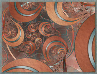 Copper Curl by FractalEyes