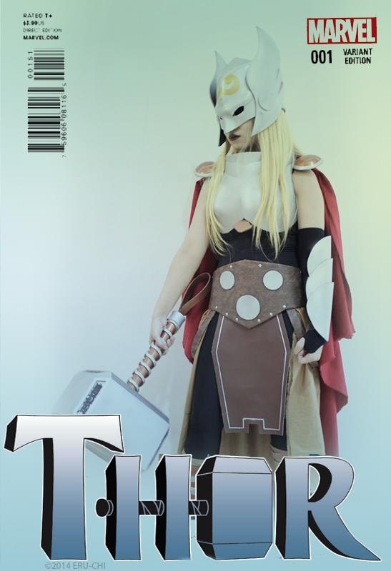 THOR - RIBIC VARIANT COVER by SasukeUzumaki666