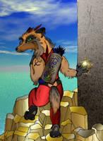 Xyphous at the Ninth Pillar by TallonRoe