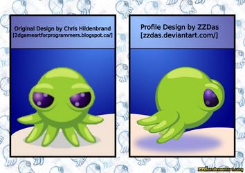 Octo-vector (Inkscape) by ZZDas