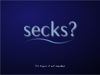 From Secks to Sex