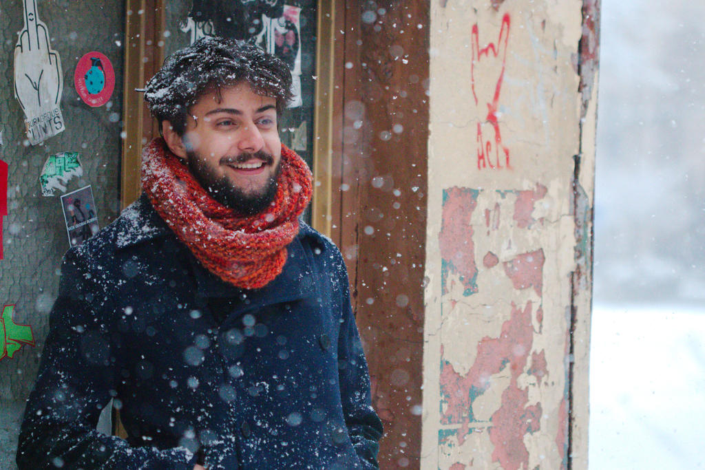 rami in snow by SchlafundAtemlos
