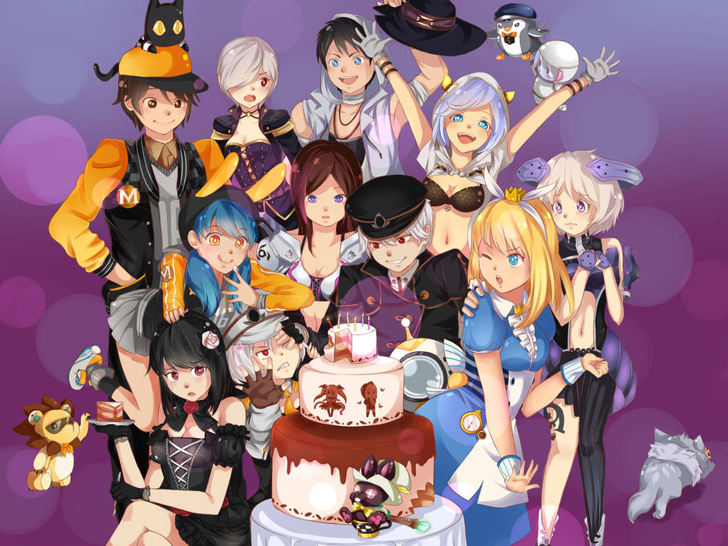 S4League Birthday~ by Wiki234 on DeviantArt