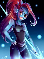 Undyne by Wiki234